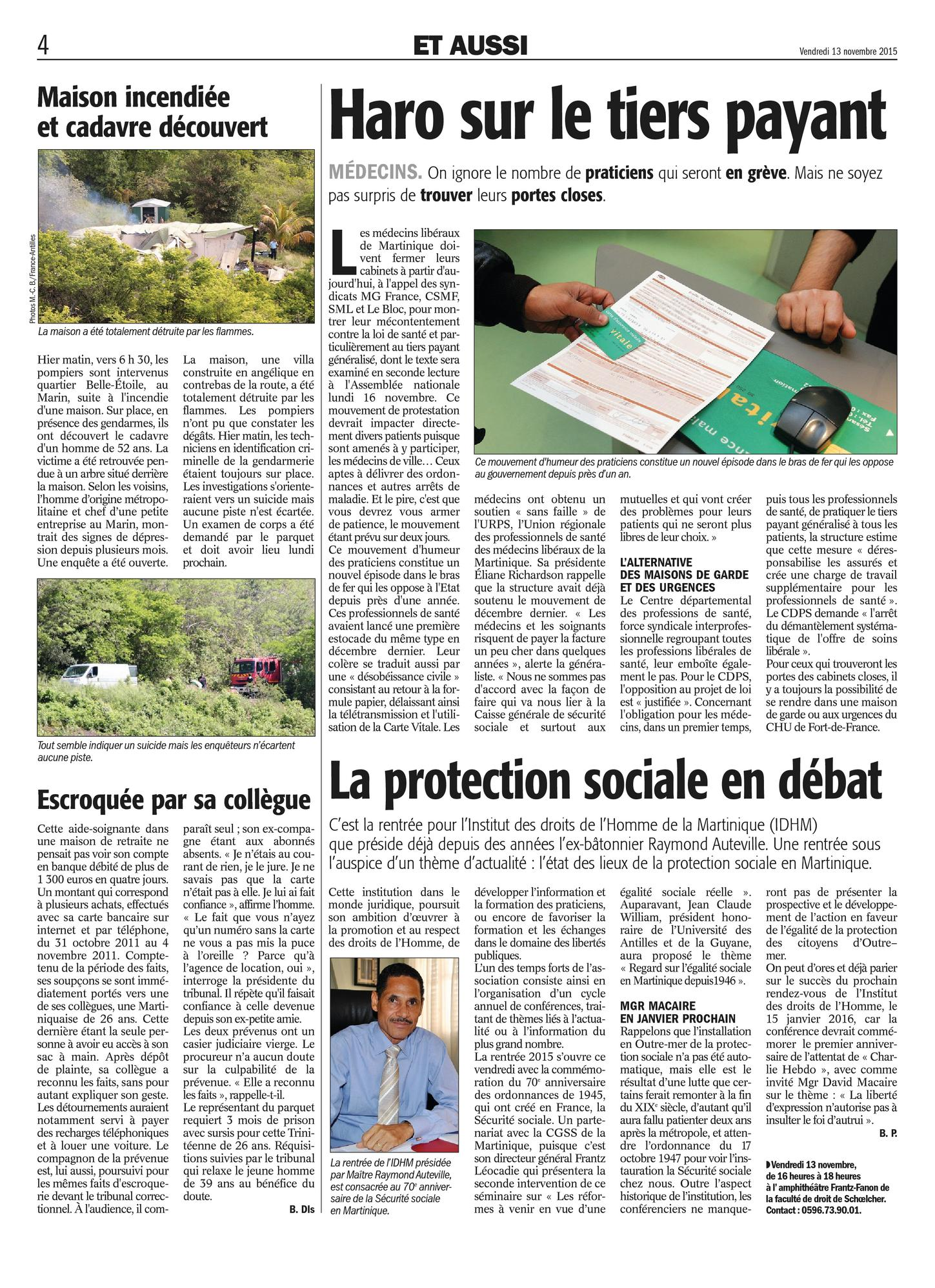 La protection sociale en débat